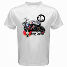 New JORGE LORENZO YAMAHA Moto GP Rider Men's Tee White T-Shirt Size S to 3XL