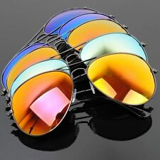 Anti-Reflective Women Men Aviator Mirrored Eyewear Sunglasses UV Protection 3025
