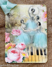 Hang Tags  VINTAGE STYLE BALLERINA MUISC #450  Gift Tags
