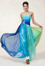 Formal Ball Gown Colorful Casual Swing Dress Evening Party Long Flowing Dresses