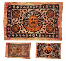 ॐ INDIAN WALL HANGING throw tapestry decorative ethnic bedspread single hippy UK
