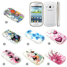 Colorful Soft TPU Rubber Silicone Cover Case Skin For Samsung Galaxy Fame S6810