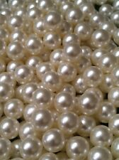 200pc Lots 2mm-8mm Pearl Beads Confetti & Table Scatters/Charms No Hole Beads