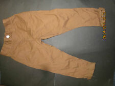 boys chino trouser ex store next 50% off RRP 3 & 4 yrs ginger tan