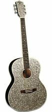 Sparkle Glitter Acoustic Guitar and Taylor Swift Chord Book