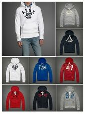 New Abercrombie by Hollister men Upper Hudson Pull Over Zip Up Hoodie SweatShirt