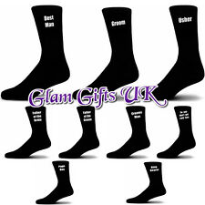 Mens Wedding Socks, Groom, Best Man, Usher, Father of the Bride.... Free P&P