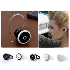 New Smallest Bluetooth Headset headphone Earphone monaural For Samsung LG HTC