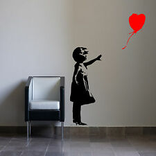 Banksy Multiple Listings Sticker Bathroom Bedroom Lounge Kitchen Decal Graffiti
