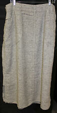 NWT FLAX Spring Street Skirt  in 100% linen. Size 2G. you choose color