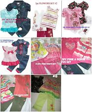 * NWT NEW GIRLS 3PC NANNETTE SUMMER OUTFIT SET 2 3 4 5 6 6x