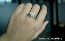 Classic Brilliant Round Cut Ring 1.25 Carat AAA Swiss CZ Rhodium Triple Plated