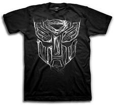 Transformers - AutoBot Logo Smoke / Black T-Shirt / Officially Licensed Tee