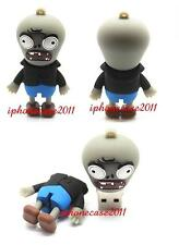 8 - 32 GB Zombie Plant Model USB 2.0 Memory Stick Flash Drive With Phone Strap