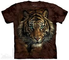 Tiger Prowl T-Shirt by The Mountain. Lion Leopard Panther Puma Sizes S-5XL NEW