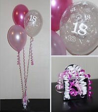 Helium DIY Party Decoration Kit Clusters - AGES  18,21,30,40,50,60,65,70,80,90