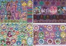 Sailor Moon - Metal Sheet Sticker Card & Folder - CHOOSE! - Saturn Pluto