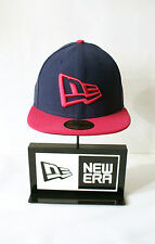 New Era 59FIFTY New Era NE Logo Purple Unisex Fitted Hat Pink Baseball Cap