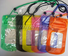 New Waterproof Underwater Transparent Pouch Bag Dry Cover Case For Mobile Phones