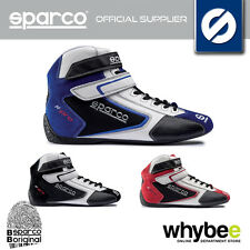 NEW! SPARCO K-PRO SH-5 SH5 KARTING BOOTS SUEDE/LEATHER 3 COLOURS SIZES 36-48