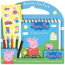 Peppa Pig Activity Pack. Great Birthday Party Favour/Gift. Buy 6 @ £2.99 each.