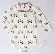 NWT GYMBOREE Gingerbread Girl Ivory L/S Gingerbread People Bodysuit