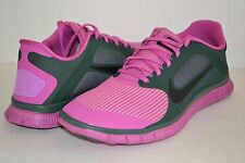 WOMENS NIKE FREE 4.0 V3 CLUB PINK BLACK SIZE 12 RUNNING WALKING SHOES