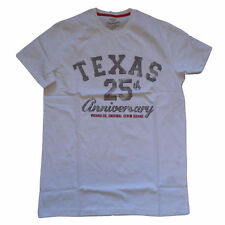 MENS WRANGLER TEXAS 25TH ANNIVERSAY LIMITED EDITION T-SHIRT - WHITE