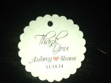 "30 60 120 1.5"" Wedding Favor Tags Personalized Gift Tags Buy 2 Get 1 Free"