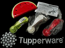Tupperware Measuring Spoons complete set CHOICE ~Red ~White (Gray / Blue) ~Green