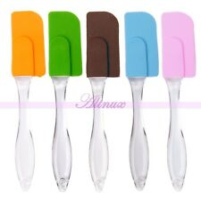 Non-Stick Silicone Cake Spatula Scraper  Butter Stir Fry Kitchen Utensils Tool