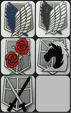 1 embroidered patch 'Attack on Titan' choose your favourite
