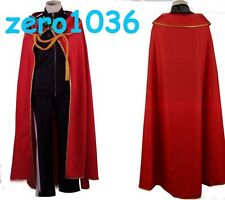 Noragami Yato Cosplay Costume Sports Suit BEST Costume Clothes+Pants+Scra+ Cloak