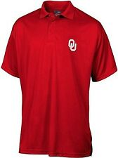 Oklahoma Sooners NCAA Dri Fit Embroidered Logo Polo Shirt Red Big Sizes