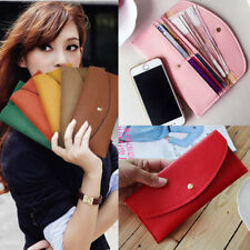 2014 new fashion lady women girl purse long wallet card holders handbag PU gift