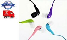3.5mm Good Quality Stereo Earbud Earphone Headset Iphone MP3 Smartphone 5 Colors