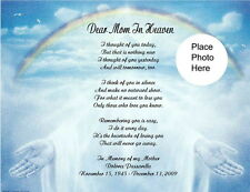 Memorial Personalized Poem For Mom,Wife Husband Dad or Anyone