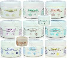 Australian Creams CHOOSE LANOLIN EMU OIL SORBOLENE VITAMIN E TEA TREE MACADAMIA