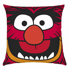 MUPPETS LICENSED ANIMAL MAD DRUMMER RED KIDS PILLOW CUSHION 45x45cm **NEW**