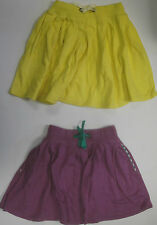 Girls MINI BODEN skirt age 2 3 4 5 6 7 8 9 10 11 12 years yellow navy grey *NEW*