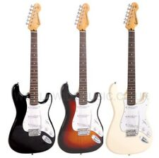 Encore E6 Electric Guitar Outfit SUNBURST, BLACK or WHITE Everything included