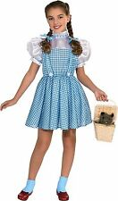 WIZARD OF OZ Dorothy Costume Classic Girls Kids Child Youth Dress & Bows