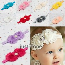 Sweet Lovely Flower Hairband Head Band Decor for Toddlers Baby Kids Infants Lot