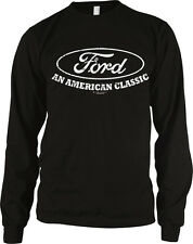 Ford An American Classic Cars Trucks Built Tough Motor Co Long Sleeve Thermal