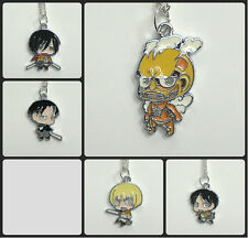 Anime 'Attack on Titan' necklace choose your favourite character Cosplay