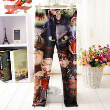 CUTE 2014 Child Clothing How to Train Your Dragon Girl Boy School Sport Leggings