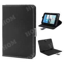 HOM Leather Flip Diary Case Cover Pouch Stand 8 inch For Dell Venue 8