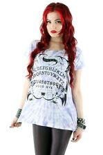 IRON FIST OUIJA SLOUCH TEE T-SHIRT TOP BNWT 100% VEGAN FRIENDLY -  HALLOWEEN