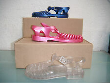 Children's Blue Or Pink Or Clear Jelly Sandals.  Sizes 4, 6, 7, 9, 10, 12 & 1