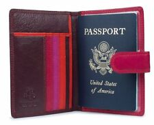 Visconti RB75 Multi Color Soft Leather Travel Passport Holder Cover Case Wallet